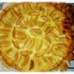 Köstliche Birnentarte - tarte aux poires
