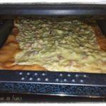 Zwiebelkuchen - tarte à l'oignon